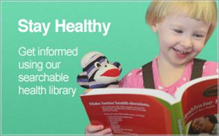 link to searchable health library